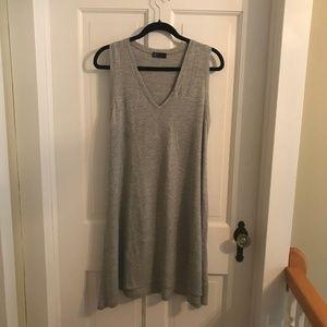 GAP Grey/White Striped Cotton Dress / NEVER WORN